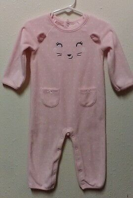 Carter's baby girl warm one peice outfits in 12 months NWOT