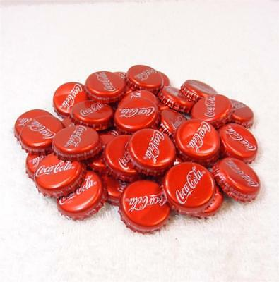 40 Mexican Coke Metal Bottle Caps For Collection Or Crafting