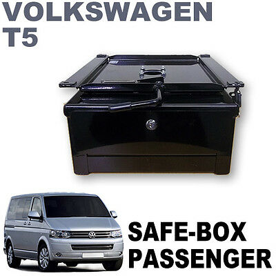 VW T5 replacement seat base with safe and swivel all in one