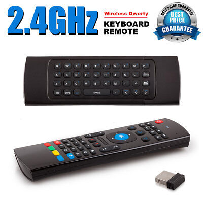 2.4G Wireless Remote Control Keyboard Air Mouse for MXQ Android XBMC TV Box PC