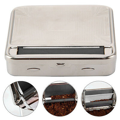 Automatic Tobacco Roll Up Making Machine Stainless Steel Rolling Tin Easy To Use