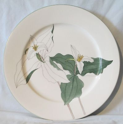 Block Trilliun Floral Watercolors 1981 Dinner Plate