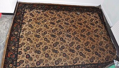 Antique/Vintage Velvet Throw/ Blanket/Wall Hanging- Flowers