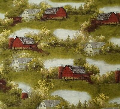 Countryside by Hautman for VIP Cranston BTY Golden Leaves Fall Brown