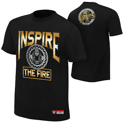 """Official WWE - Becky Lynch """"Inspire The Fire"""" Authentic T-Shirt"""