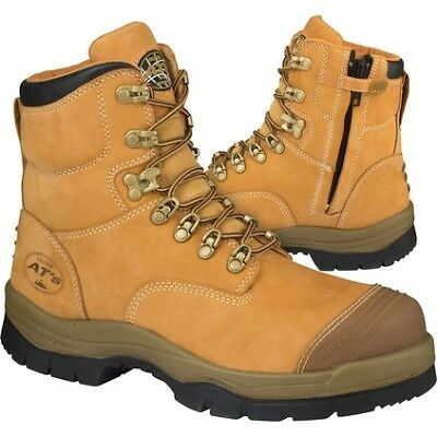 Oliver AT 55-232Z Safety Boot - Mens, Wheat, 13