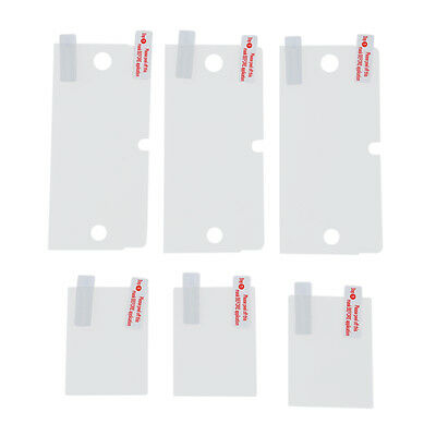 SS 3 Pack Clear LCD Screen Protector Cover for Nintendo 3DS