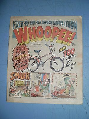 Whoopee issue dated September 26 1981