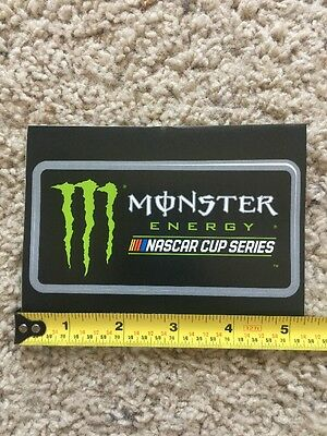 Monster Energy Drink NASCAR Cup Series Logo Sticker Decal