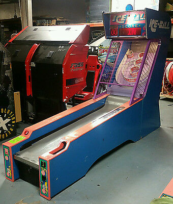 ICE BALL 10' SKEE BALL Full Size Arcade Game Machine! Classic WORKS GREAT!