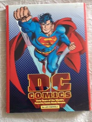 DC Comics Sixty Years of the World's Favorite Heroes hc
