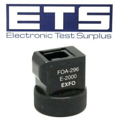 Exfo FOA-296 E-2000 Fiber Optic Adapter For OPM Power Meter