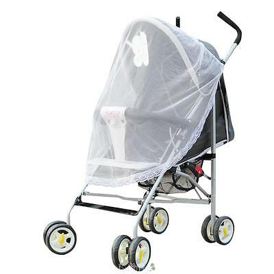 Baby Mosquito Net Insect Cover For Strollers Carriers Car Seat Cradles Universal