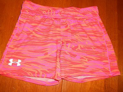 Under Armour girls shorts size 6 MINT cond athletic