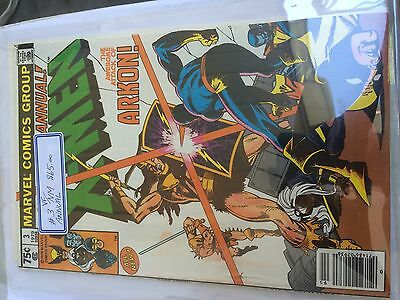The Uncanny X-Men #3 Annual Vf 50% To 70% Discount Sale