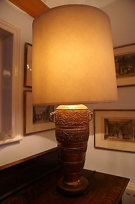 Imposing Brass Table Lamp