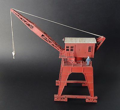 Dapol TravellingCrane OO/HO Professionally Built, Painted and Weathered Exclnt