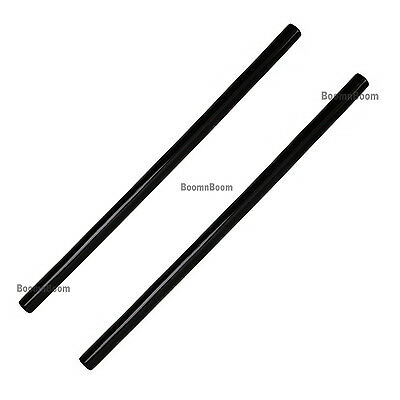 "New 2 pc SET 26"" Escrima Sticks BLACK Rattan 2 Rattan Sticks Eskrima Kali Arnis"