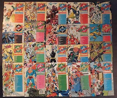 Who's Who In The DC Universe...large lot of 20 DC Comics