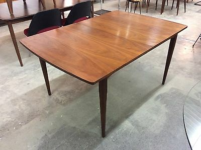 Drexel Walnut Dining Table Kipp Stewart Mid Century Modern