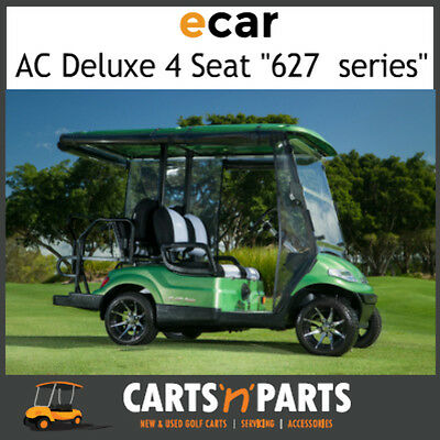 Ecar AC POWER DELUXE 4 Seat NEW GOLF CART Buggy 627 Series Full Deluxe Package G