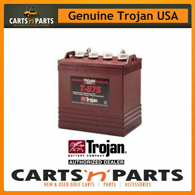 SINGLE Trojan BATTERY 8 Volt Deep Cycle T875 170Ah/20Hr