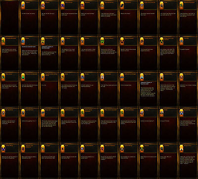 Diablo 3 RoS XBOX ONE [SC & HC] Ultimate Cosmetic Bundle All Wings Banners Pets