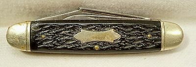 Vintage Pocket Knife 2 Blade Folding Camilius New York 16 Camp