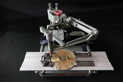 Vigor EN-775B Pantograph Engraving Machine with Number Wheel - Jewelry Trophy