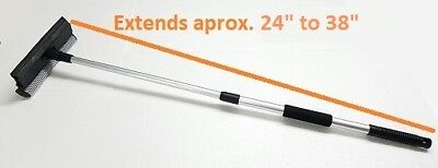 Extendable Telescopic Squeegee Long Reach Washer Car Cleaner Wiper Window