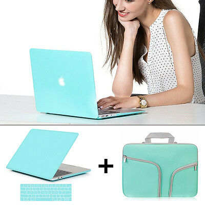 Laptop Carry Bag+Hard Shell Case+KB Cover for 2016 Macbook Pro 13 15 A1706 A1708