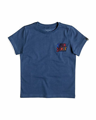 NEW QUIKSILVER™  Boys 2-7 Logoalolo T Shirt Boys Children Tops