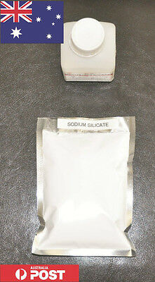 100g Sodium Silicate High purity Powder form Liquid Glass - Australia Stock