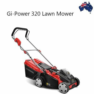 320 Lawn Mower Cordless Lawnmower Lithium Battery Powered Electric Garden