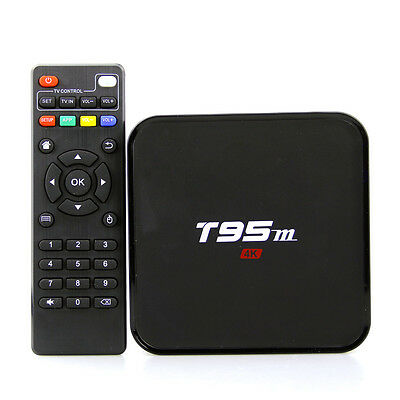 Smart TV Box T95M Amlogic S905 Quad 16.1 Core Android 5.1 4K HD 1GB/2GB+8GB