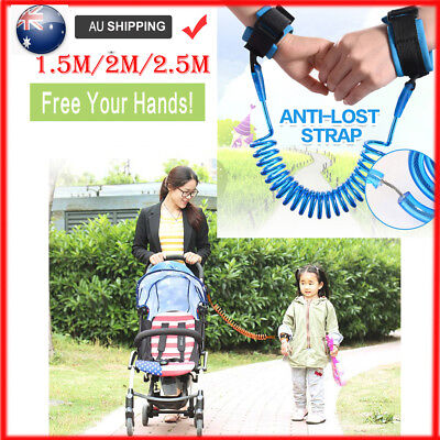 Kids Baby Anti-lost Harness Strap Safety Wrist Link Leash Belt Traction Leash AU