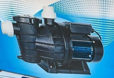Brand New Pure Blue Swimming Pool Pump SP.75 3/4 HP 3.2 AMP Watts 0.55KW