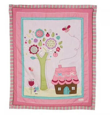 Living Textiles Baby Doll Cot Quilt. Brand New.