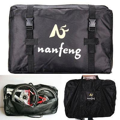 26IN Folding Bike Transportation Bag Carrier Storage 600D Hardwearing Waterproof