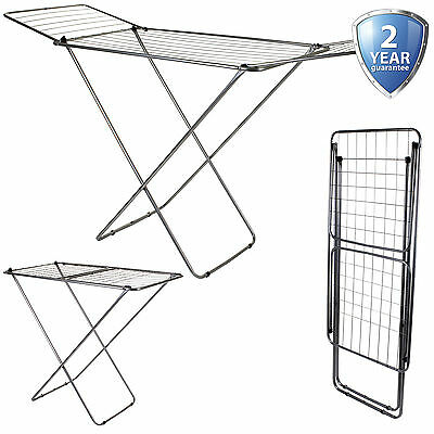 Airer Winged Clothes Laundry  Indoor Hanging Clothing Washing Dryer 18M