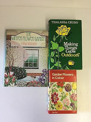 3x Great Books Garden in Flowers Making Things Grow The Winter Garden