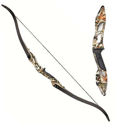 "Archery 56"" Takedown Recurve Bow Alloy Riser Longbow Right Hand Hunting Practice"