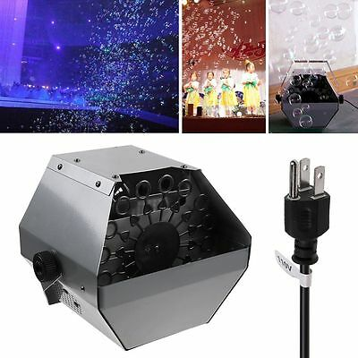 16 Wand BUBBLE MACHINE Blower Maker For DJ Party Club Stage Effect Smoke Fog
