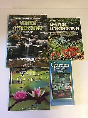 4 x Water Gardening Ponds Water Making the Most of Water Gardening