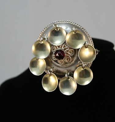 NORWAY Wedding SØLJE Brooch 925 S Kristian M HESTENES Vintage