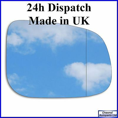 Right Wide Angle Mirror Glass Jaguar XF 2008-2015 #578RAS