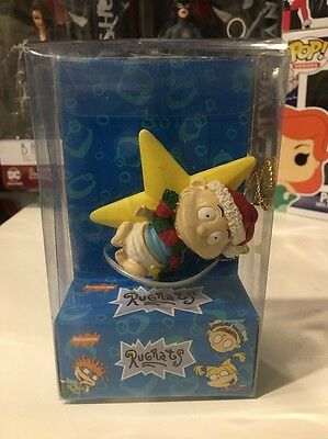 1998 Nickelodeon Rugrats Tommy Christmas Ornament New Mint In Box