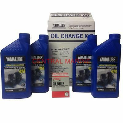 Yamaha Outboard 20W40 Oil Change Kit F90 F115 5Gh-13440-30-00 Lub-Mrnmd-Kt-21