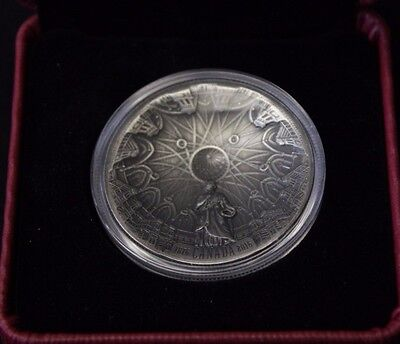 2016 $25 Fine Silver Concave - 140th Anniversary of the Library of Parliament