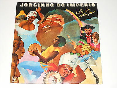 Jorginho Do Imperio - LP - Fiesta Do Preto Fotto - Brazil 1980 - CBS 138.193